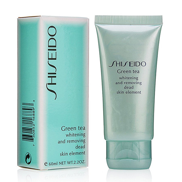 Пилинг Shiseido Green Tea